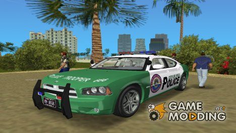 Dodge Charger R/T Police v. 2.3 for GTA Vice City