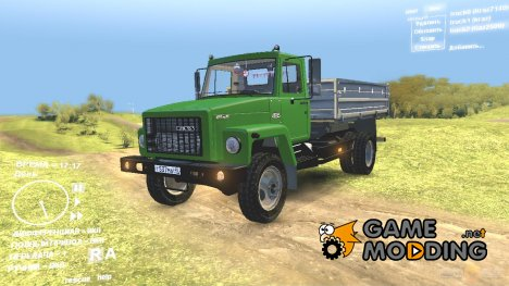 "ГАЗ-САЗ-2506 ""Земляк"" for Spintires DEMO 2013"