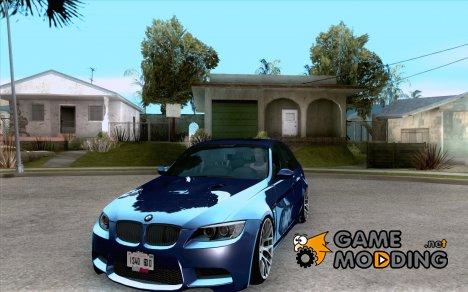 BMW M3 E90 Sedan 2009 for GTA San Andreas