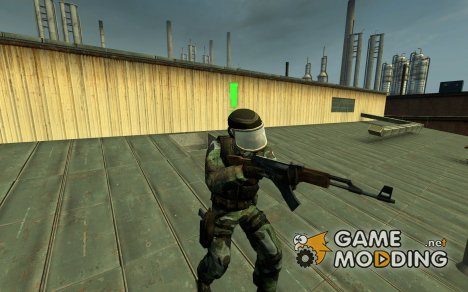 Gign AKA SAS для Counter-Strike Source
