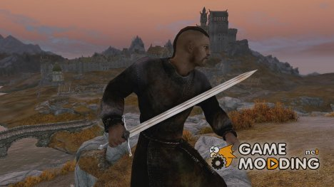 Dragonplate blade для TES V Skyrim
