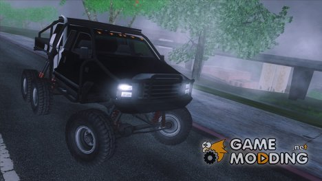 Rancher EXT Crawler 6x6 для GTA San Andreas