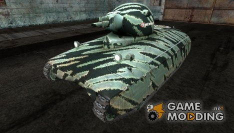 Шкурка для AMX40 от PogS #3 для World of Tanks