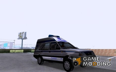 FSO Polonez Cargo MR94 Ambulance для GTA San Andreas