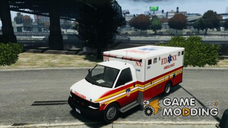 Chevrolet Ambulance FDNY v1.3 for GTA 4