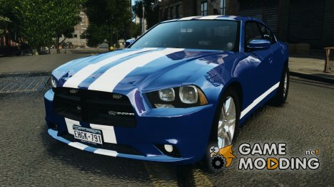 Dodge Charger Unmarked Police 2012 [ELS] для GTA 4