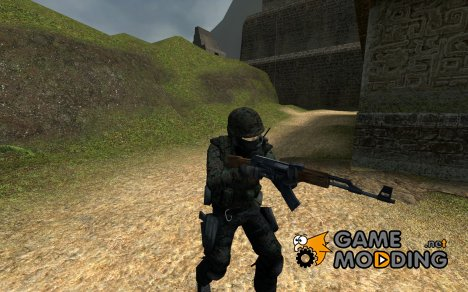 Woodland Camouflage Seal Team 6 v2 для Counter-Strike Source