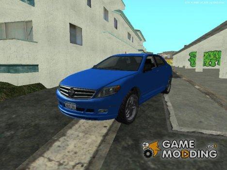 Schafter из GTA V для GTA San Andreas