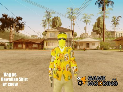 Vagos in hawaiian shirt lsv2 для GTA San Andreas