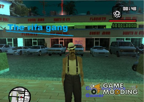Жизнь Бандита из банды Rifa для GTA San Andreas