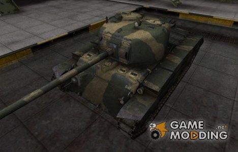 Исторический камуфляж T20 for World of Tanks
