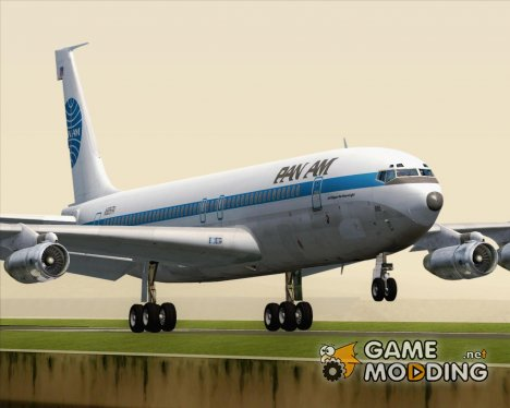 Boeing 707-300 Pan American World Airways (Pan Am) for GTA San Andreas