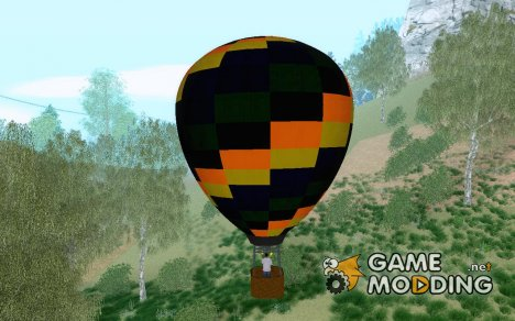 Hot Air Balloon для GTA San Andreas