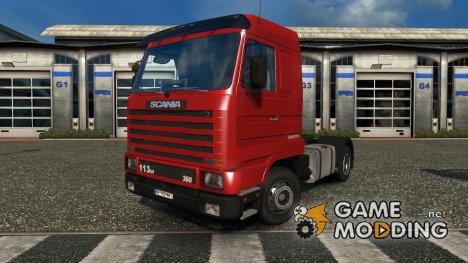 Scania 143M v 3.5 for Euro Truck Simulator 2