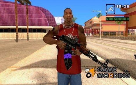 Новый AK-47 for GTA San Andreas