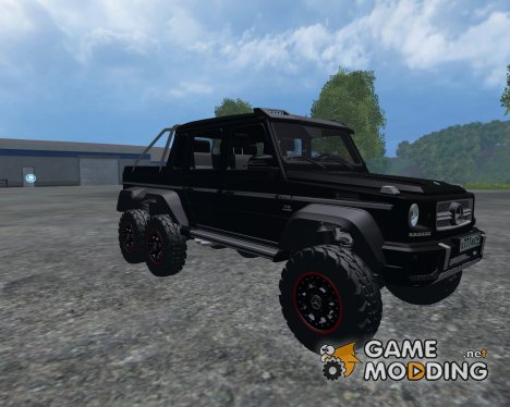 Mercedes-Benz G65 AMG 6X6 for Farming Simulator 2015
