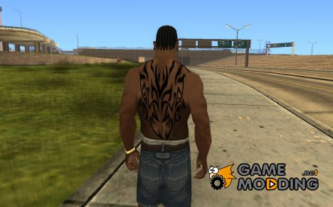 Draco Body tattoo for GTA San Andreas