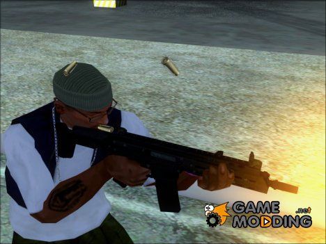Scar из State of Decay for GTA San Andreas