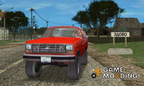 Ford Bronco for GTA Vice City