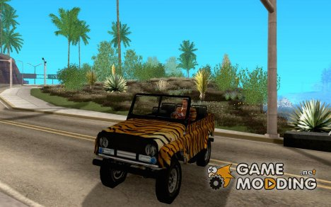 UAZ 469 TIGER (cabriolet) for GTA San Andreas