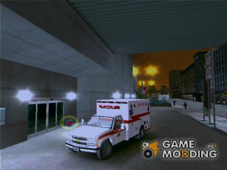 Chevrolet Silverado 2500 Ambulance для GTA 3