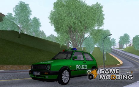 Volkswagen Golf Mk2 Polizei for GTA San Andreas