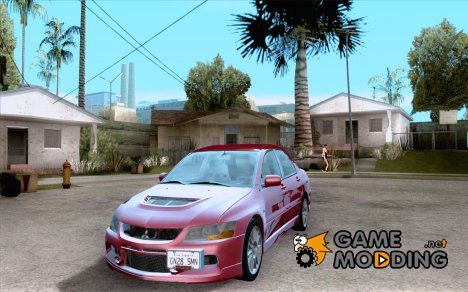 Mitsubishi Lancer Evolution IX Tunable for GTA San Andreas