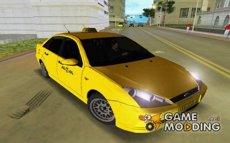Ford Focus Taxi for GTA Vice City