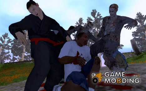 Deadly Left 4 Dead Gang Remade v3.50 для GTA San Andreas