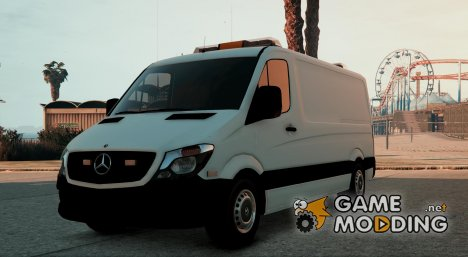 Mercedes Sprinter - Worker Van 1.1 для GTA 5