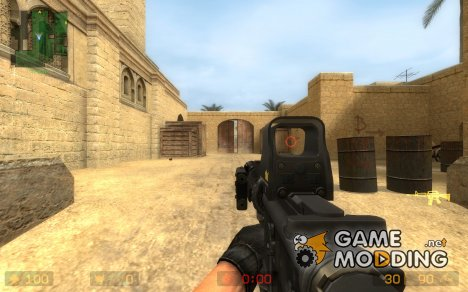 Aimable M4 SOPMOD Animations для Counter-Strike Source