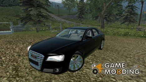 Audi A8 for Farming Simulator 2013