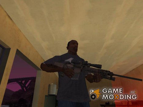 M110 с оптическим прицелом for GTA San Andreas
