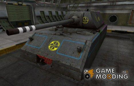 Контурные зоны пробития Maus for World of Tanks