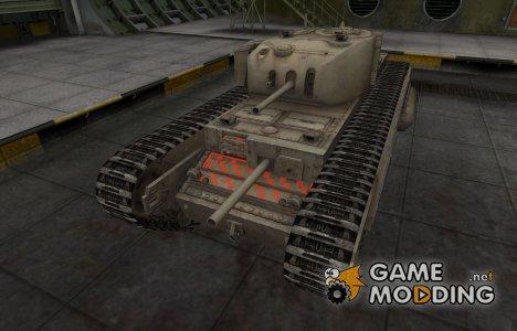 Качественные зоны пробития для Churchill I для World of Tanks