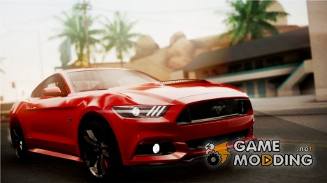 Ford Mustang GT 2015 Stock Tunable V1.0 для GTA San Andreas
