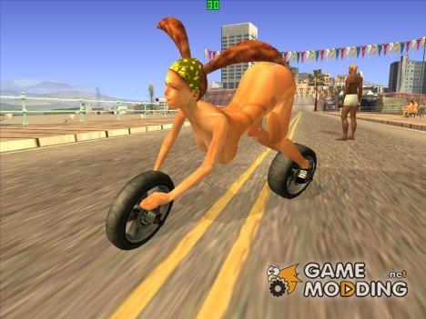 The Bike Girl for GTA San Andreas