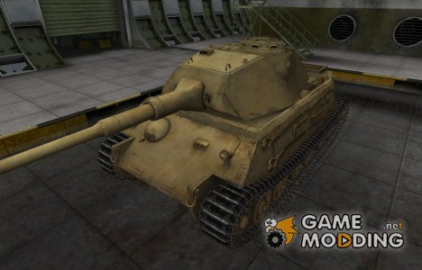Пустынный скин для танка VK 45.02 (P) Ausf. A для World of Tanks