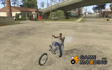 Captain America Chopper для GTA San Andreas