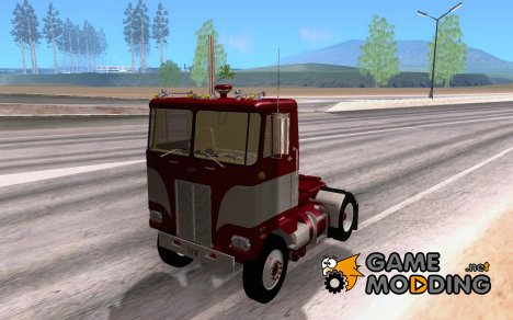 Peterbilt Single Axel Daycab 1978 for GTA San Andreas