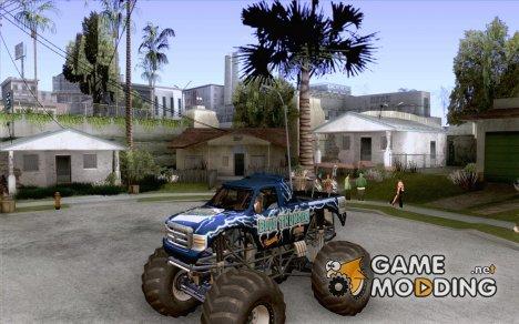 Monster Truck Blue Thunder для GTA San Andreas