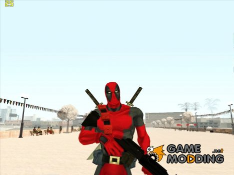 Dead Pool Classic (Marvel Ultimate Alliance) для GTA San Andreas