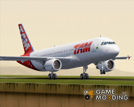 Airbus A320-200 TAM Airlines (PR-MYP) for GTA San Andreas