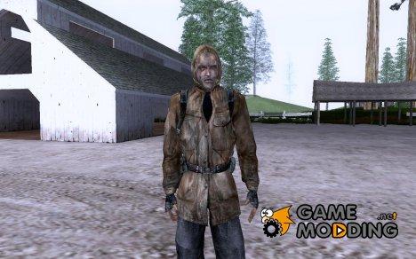 Шрам из S.T.A.L.K.E.R. Чистое Небо для GTA San Andreas