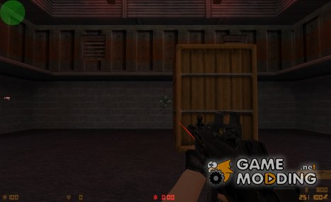 Tactical UMP45 On Platiniox ANIMATION UPDATED! for Counter-Strike 1.6