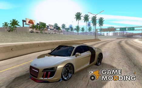 Audi R8 + Cleo for GTA San Andreas