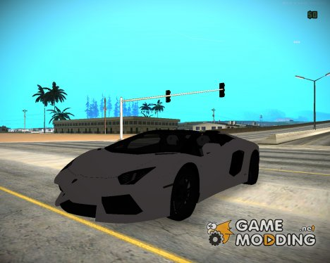 Lamborghini Aventador LP700-4 Roadster 2013 for GTA San Andreas
