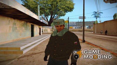 Милиционер в зимней форме V7 для GTA San Andreas