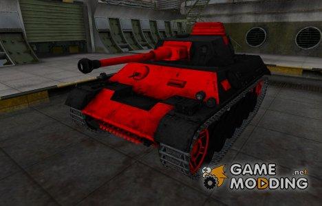 Черно-красные зоны пробития PzKpfw III/IV for World of Tanks