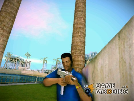 Gold SMG (Gold UZI) из TBOGT for GTA Vice City